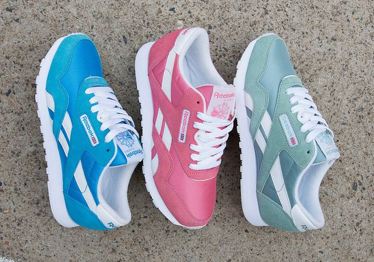 Reebok gets the ladies prepped for warmer weather with this set of the summer-appropriate Classic Nylon in three colorful shades. The all-time classic silhouette from Reebok is done up just for the brand's female fans in a choice of pastel … Continue reading →
