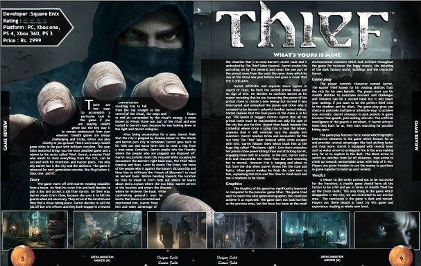 Whats yours is mine!!!! Complete review of Thief...  ~Gamer And Proud