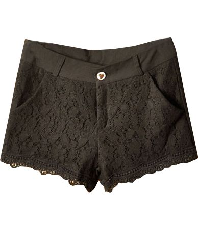 Short encaje-Negro EUR19.55