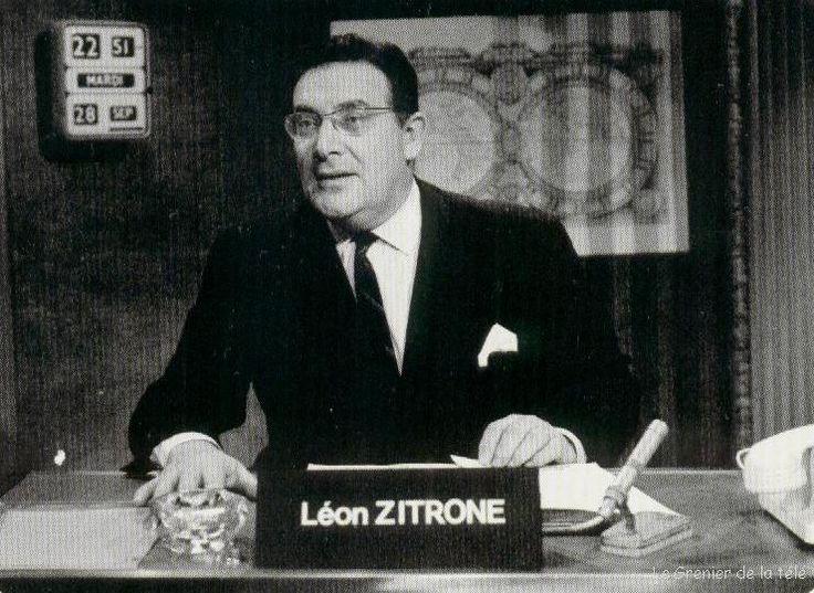 1961 : Léon Zitrone devient présentateur du journal télévisé. Il occupera cette fonction pendant vingt ans, sur la RTF, puis sur l'ORTF, sur TF1 et, enfin, sur Antenne 2