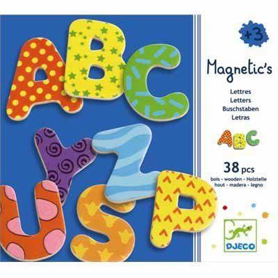 djeco  Magnéticos - Letras