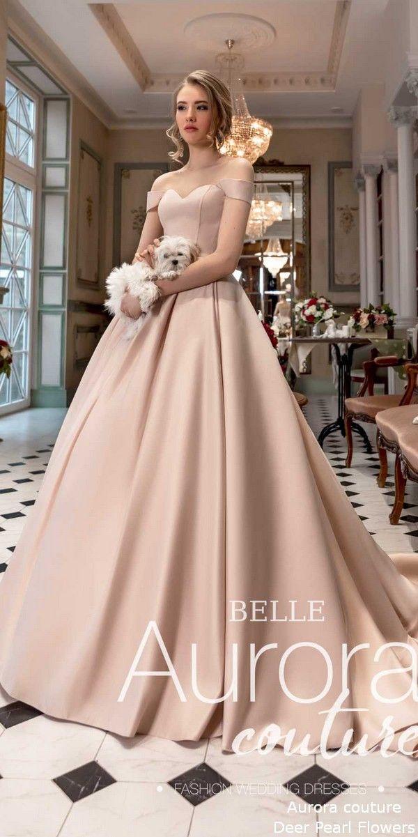 ce6c14b744 Aurora couture Russian Glory 2019 Wedding Dresses Belle #weddings #dresses # weddingdresses #wedding #bridaldresses #deerpearlflowers