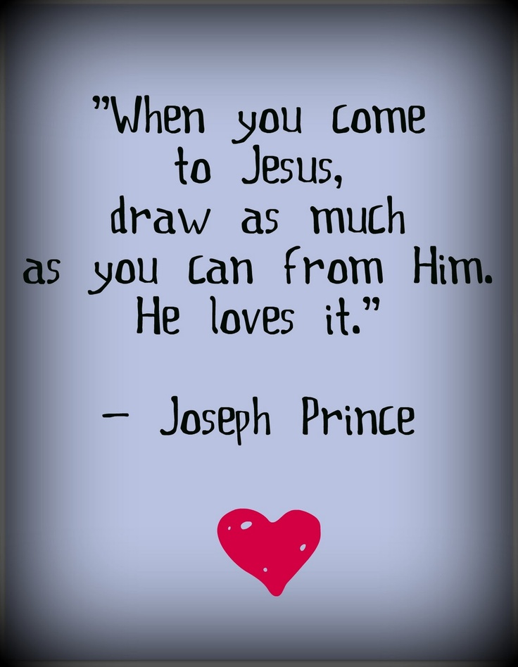Drawing from the Source ... Joseph Prince