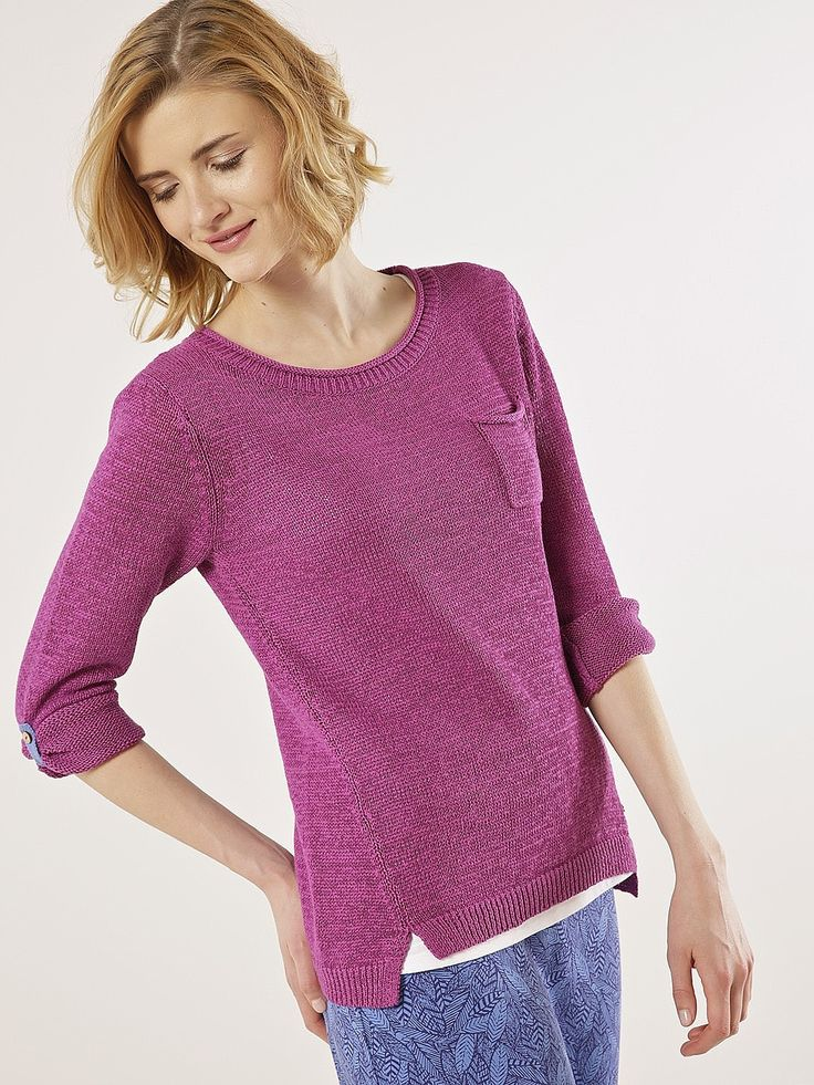 Womens amethyst tehee jumper from White Stuff - £45 at ClothingByColour.com
