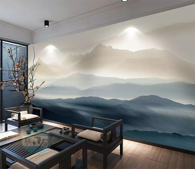 2020的3D Deep Mountain 1433 AJ Wallpaper