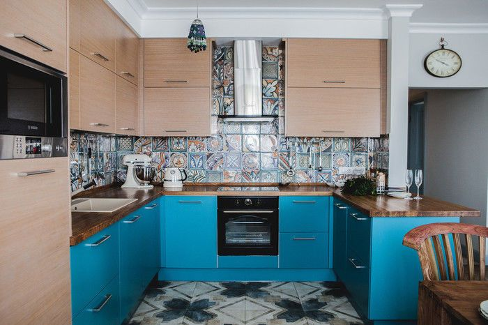 Яркий кухонный фартук: 15 примеров – Вдохновение