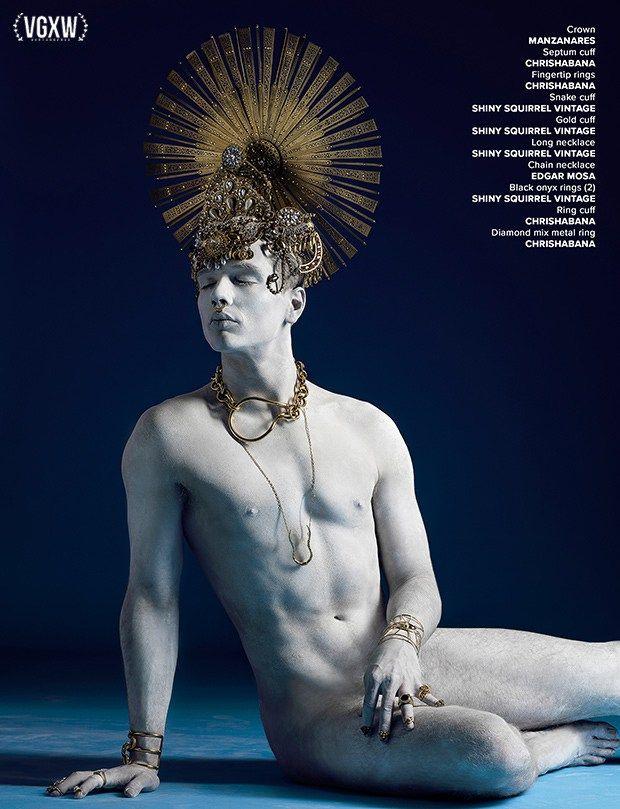 [VGXW Magazine] Hephaestion by Jose Espaillat