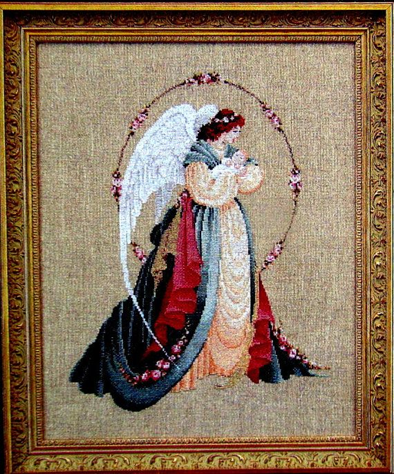 Lavander &Lace  Victorian Designs Cross by MyStitchingGarden