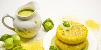 Полента с соусом из брюссельской капусты - Продукты и рецепты