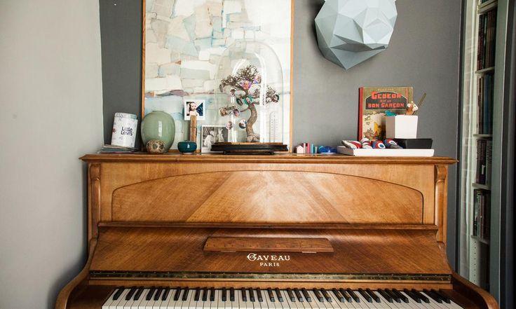 Piano Gaveau Déco Appartement Paris Charlotte Vauvillier et Jean Baptiste Bouvier