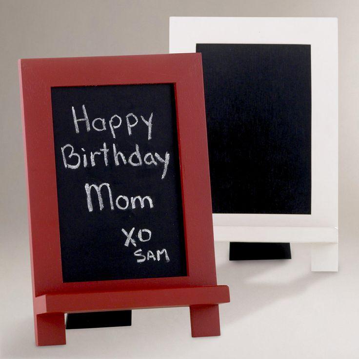 Mini Easel Chalkboard | World Market $6.99