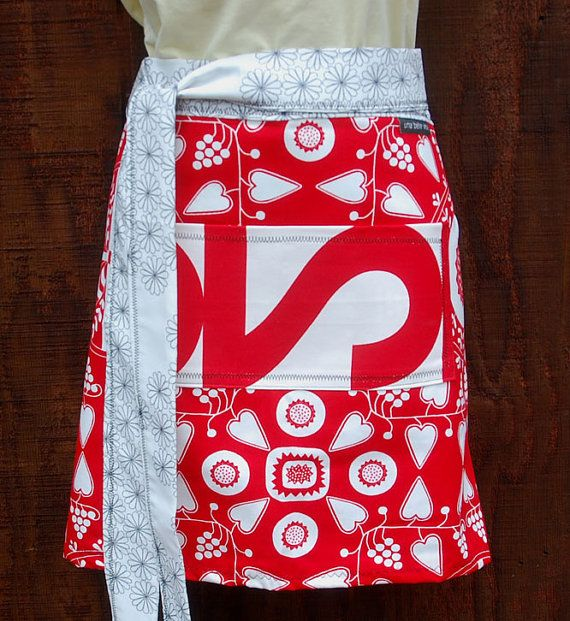i wantCanvas Fabrics, Half Apron, Ties Canvas, Aprons Canvas, Canvas Gift