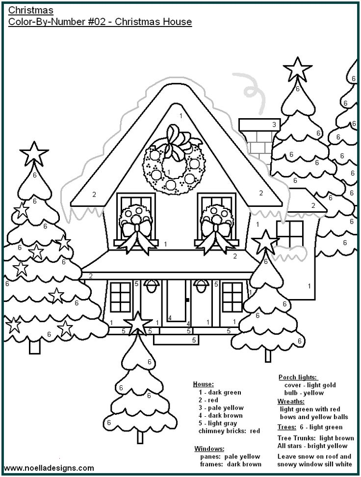 christmas coloring pages 25 unique color by number printable ideas on pinterest