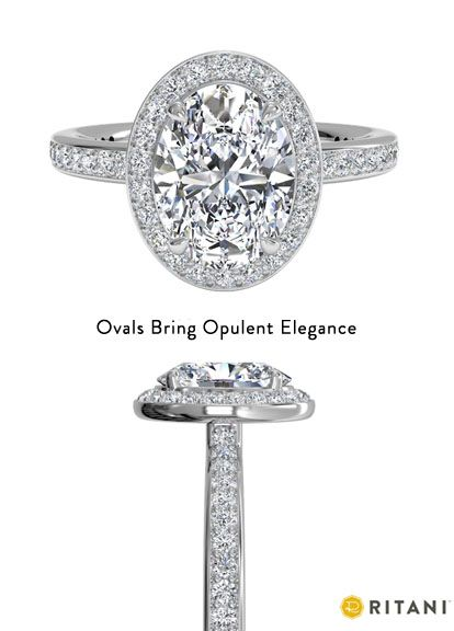 Discover Oval Engagement Rings by Ritani http://www.ritani.com/engagement-rings/shape/oval-cut-engagement-rings