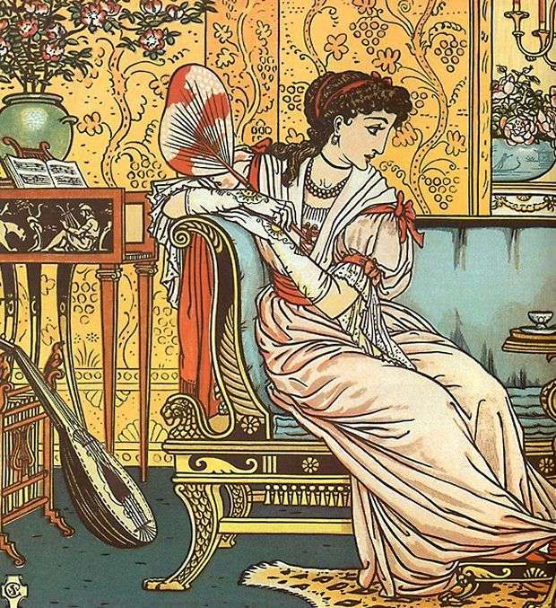 Beauty Illustrated By Walter Crane