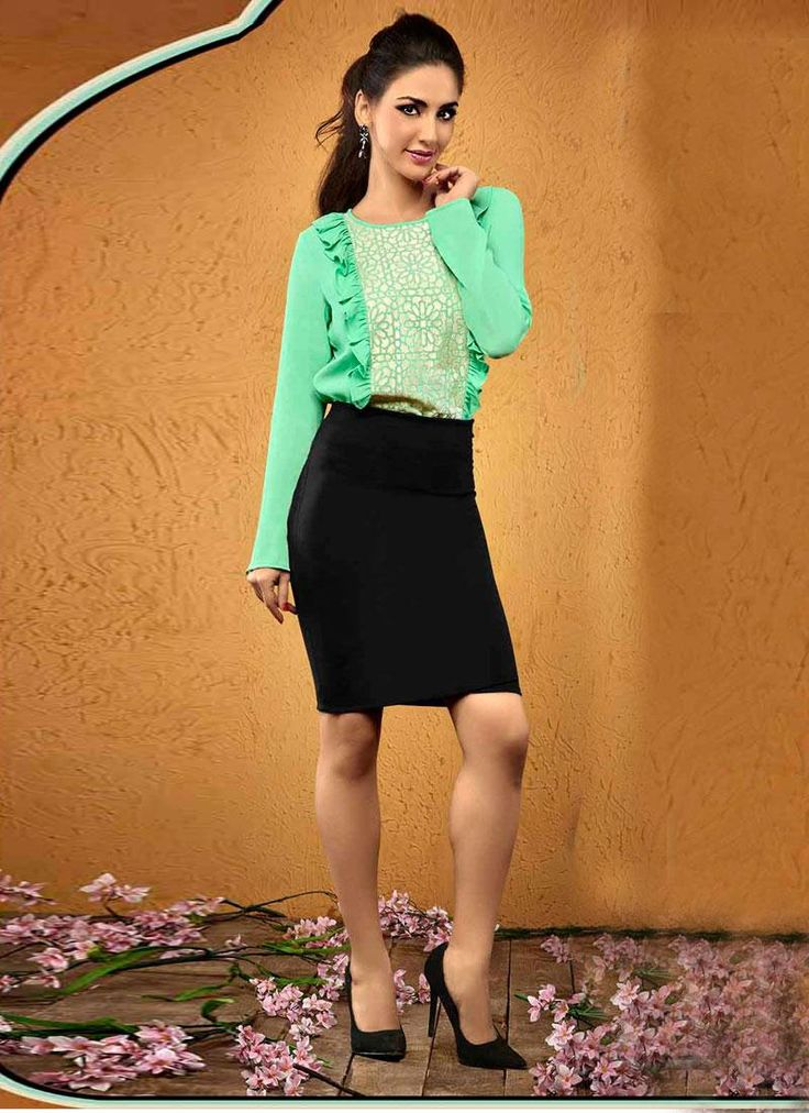 western wear tops for women clothing online shopping in India at manjaree.com . Contact Us: +91-7623989000 Email: support@thankar.com