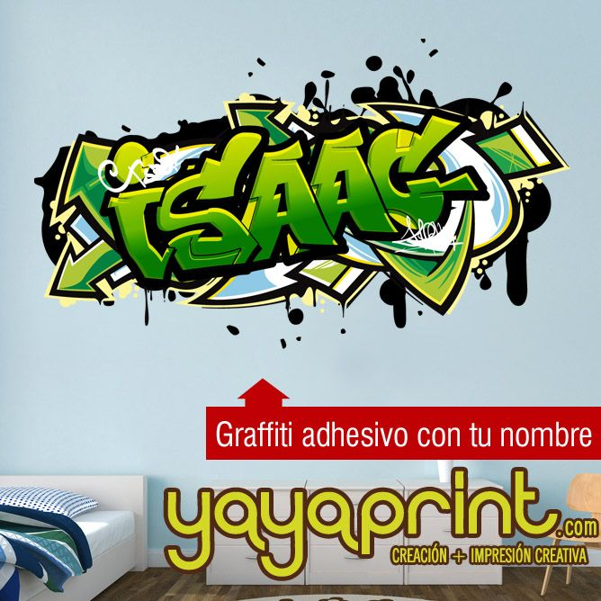 17 mejores ideas sobre vinilos juveniles en pinterest for Graffitis para ninos