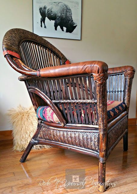 Redo It Yourself Inspirations : Pier 1 Wicker and Rattan Chair Makeover
