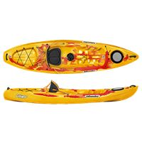 Calypso Sport Saffron/Red | Islander Kayaks | Sit on Top | Recrea - Canoe and Kayak Store