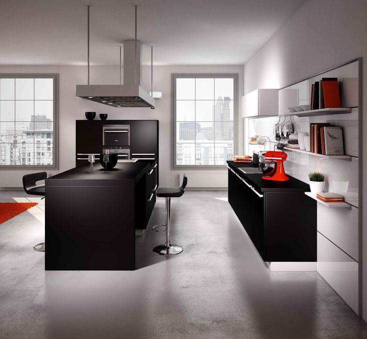 118 best Cuisine images on Pinterest Indoor, Kitchen ideas and - cuisine ouverte sur salon m