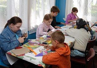 Игры с рисованием Давай рисовать вместе — Летний лагерь