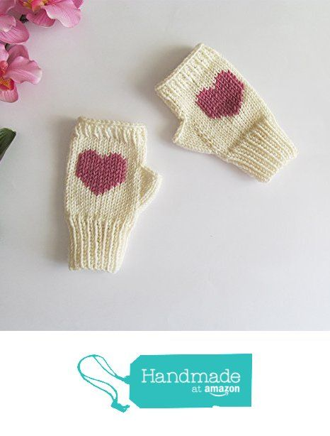 Knit Fingerless Gloves in Ivory, Rose Embroidered Heart, Heart Fingerless Gloves, Arm Warmers, Wool Blend, Made to Order from NaryaBoutique https://www.amazon.com/dp/B01M3Q3NID/ref=hnd_sw_r_pi_dp_hiKbybCQ950MG #handmadeatamazon
