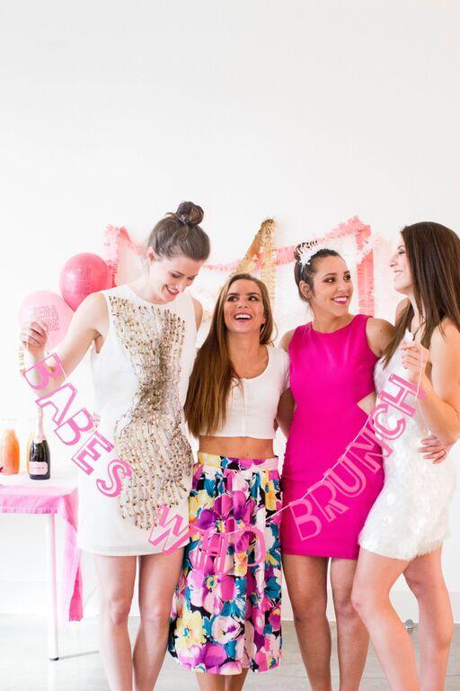 Babes who Brunch Bridal Shower Styled by @shopbracket  photography by @catdossett