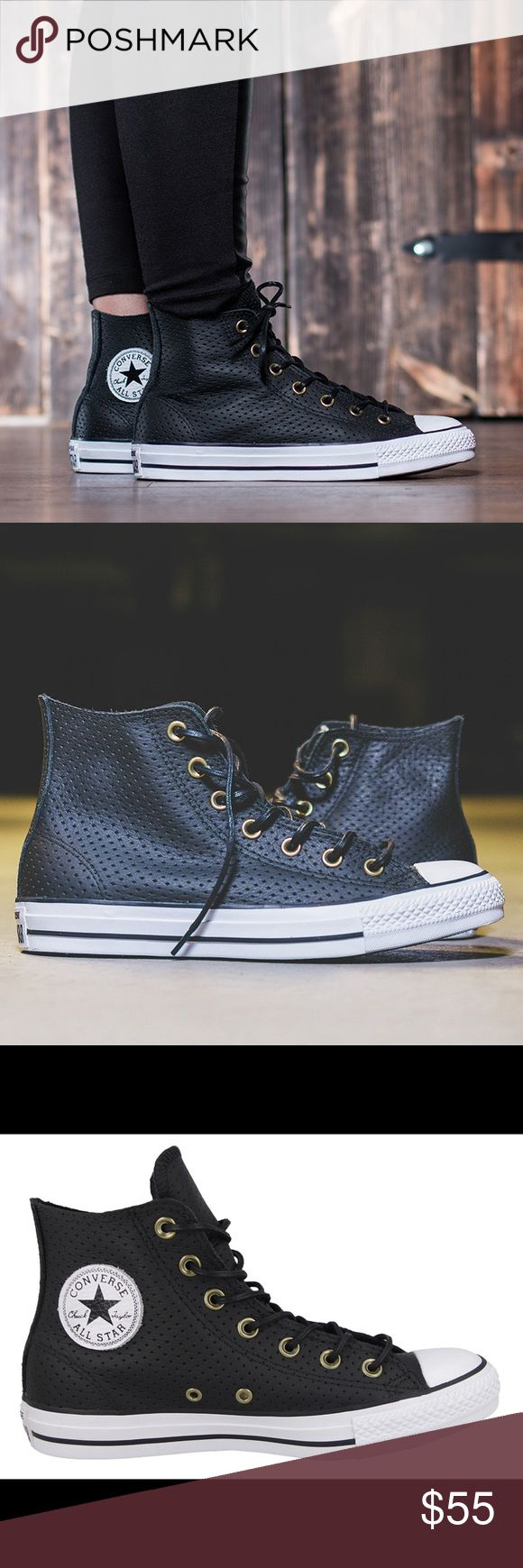 ❗️1 HOUR-SALE❗️Converse womens shoes Chuck Taylor Brand new womens size 7.5. Black Converse Shoes Sneakers