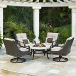 Allison 5-piece Swivel Fire Chat Set by Mission Hills® from Costco online for $1,999.99