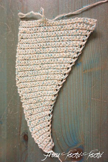 Frau Tschi Tschi Einfaches Dreieckstuch Mit Farbverlauf Häkeln