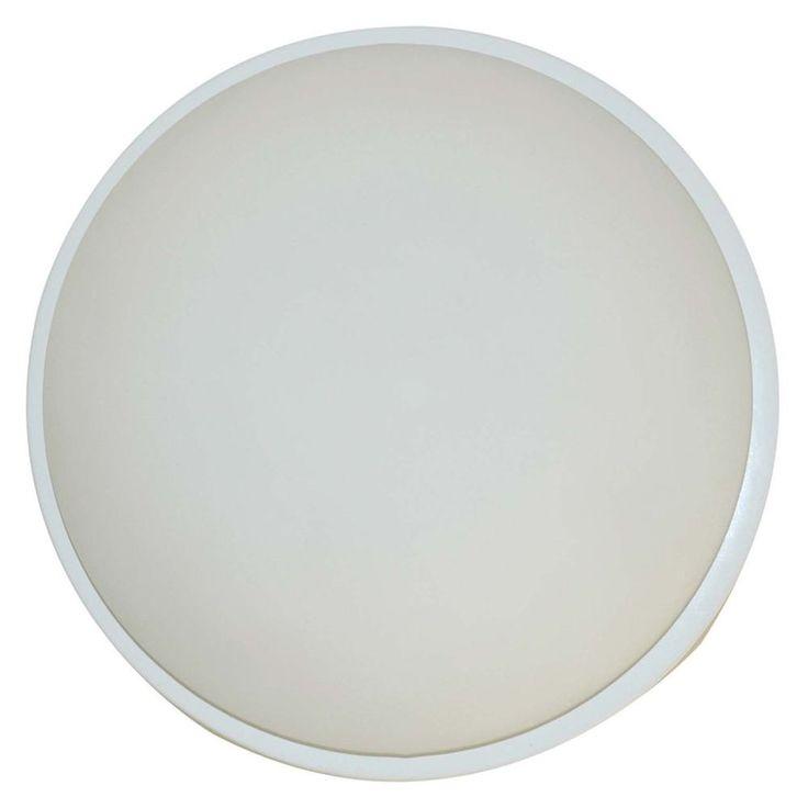 Flush Ceiling Light White Finish