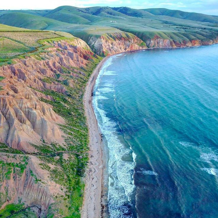 Wow! What an incredible birds-eye view of Sellicks Beach captured by @ben_jamo. The Onkaparinga coastline is really something special in South Australia.