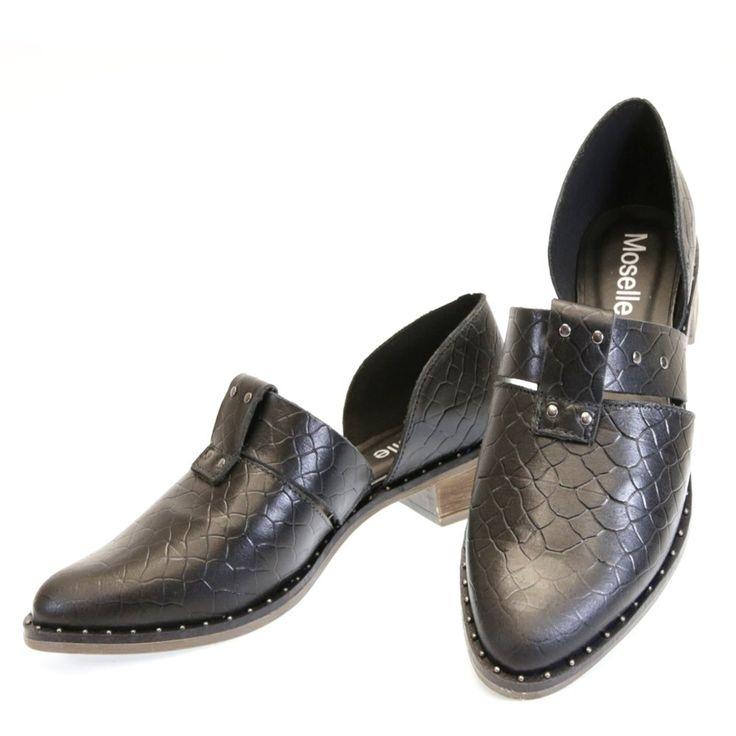 Oxford Preto 1447 Moselle | Moselle sapatos finos femininos! Moselle sua boutique online.