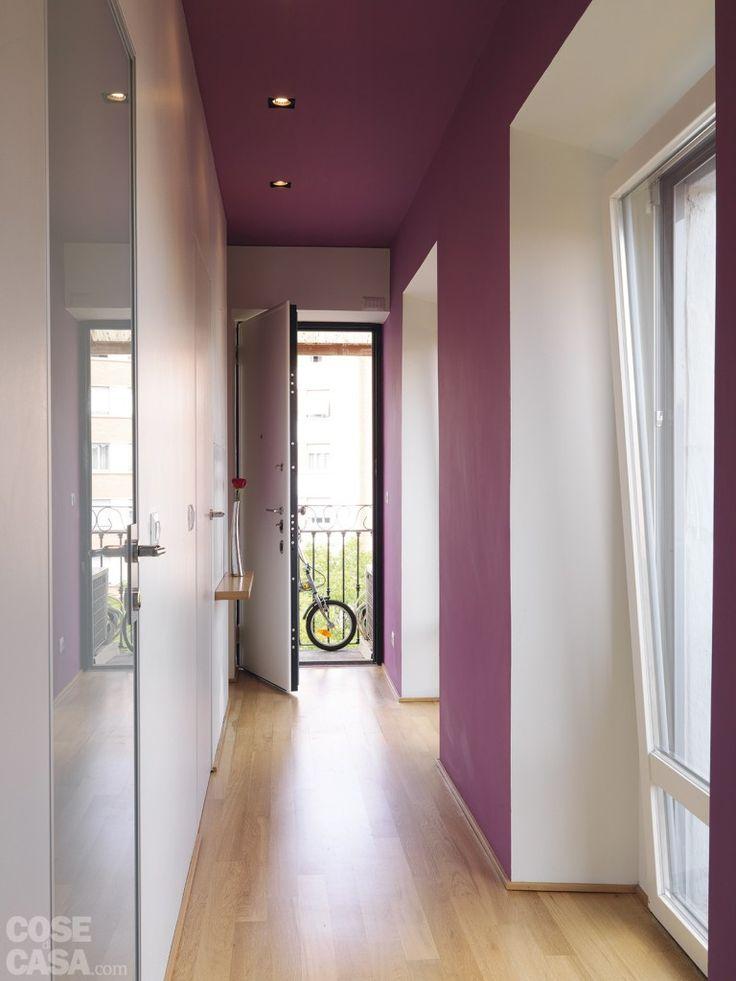 illuminazione corriodio, tinteggiatura pareti