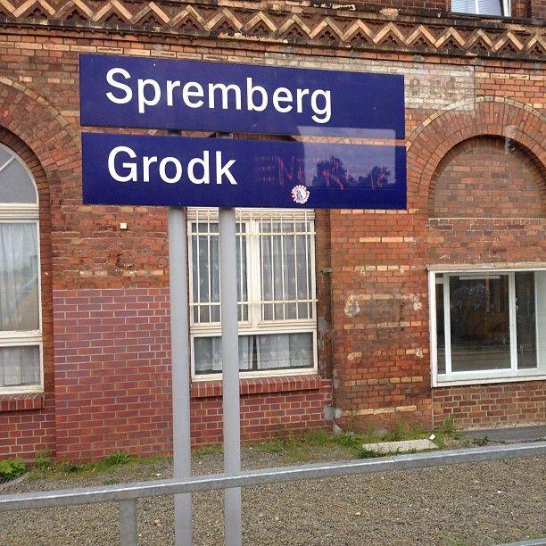 Bahnhof Spremberg in Spremberg, Brandenburg