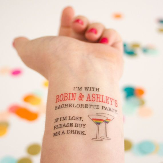 Pride Temporary Tattoos Customized for a by KristenMcGillivray
