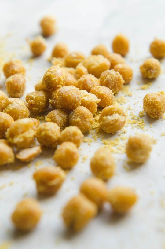 Recipe: Cheetos-Style Chickpeas — Vegan Munchies by Gina Eykemans | The Kitchn