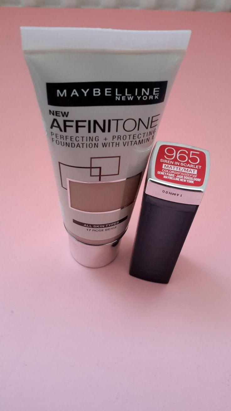 Yeni makyaj ürünleri olarak Maybelline Affinititone ve Siren in Scarlet 965 ruja bayıldım. Kelebeksy olarak makyaj önerilerine ve ürün önerilerine her zaman yer vereceğiz.  Şimdiden hayırlı olsun. ...