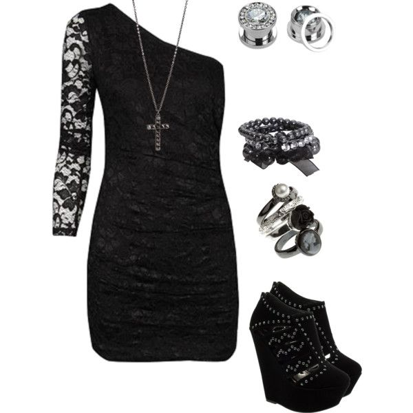 """Untitled #934"" by bvb3666 on Polyvore   homecoming?"