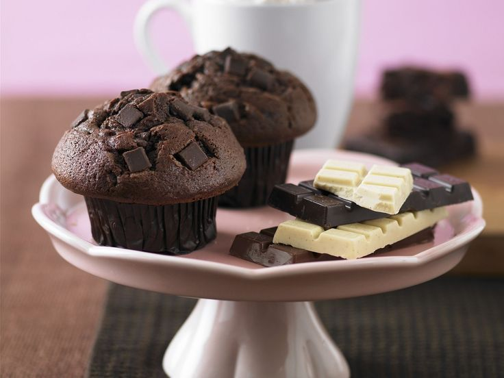 Schokoladen-Muffins - smarter - Kalorien: 738 Kcal - Zeit: 40 Min.   eatsmarter.de