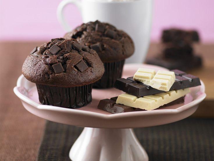 Schokoladen-Muffins - smarter - Kalorien: 738 Kcal - Zeit: 40 Min. | eatsmarter.de