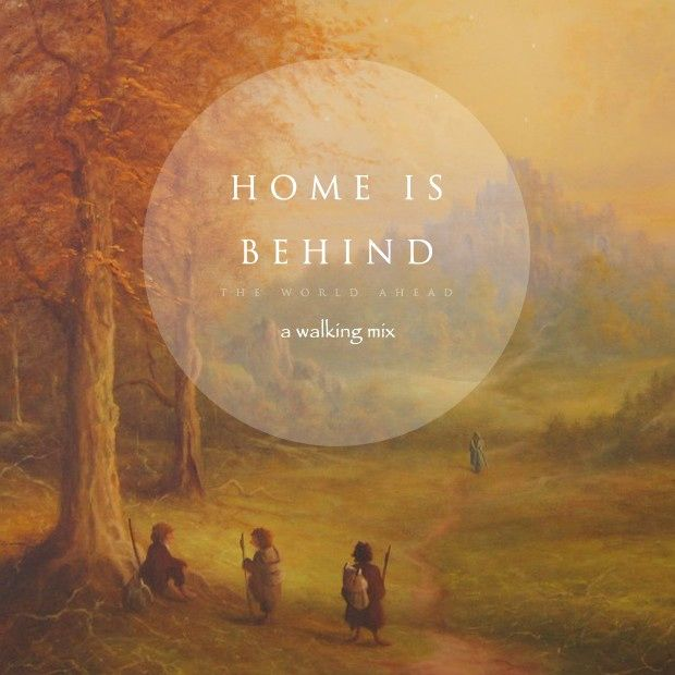 home is behind the hobbit tolkien earth quotes