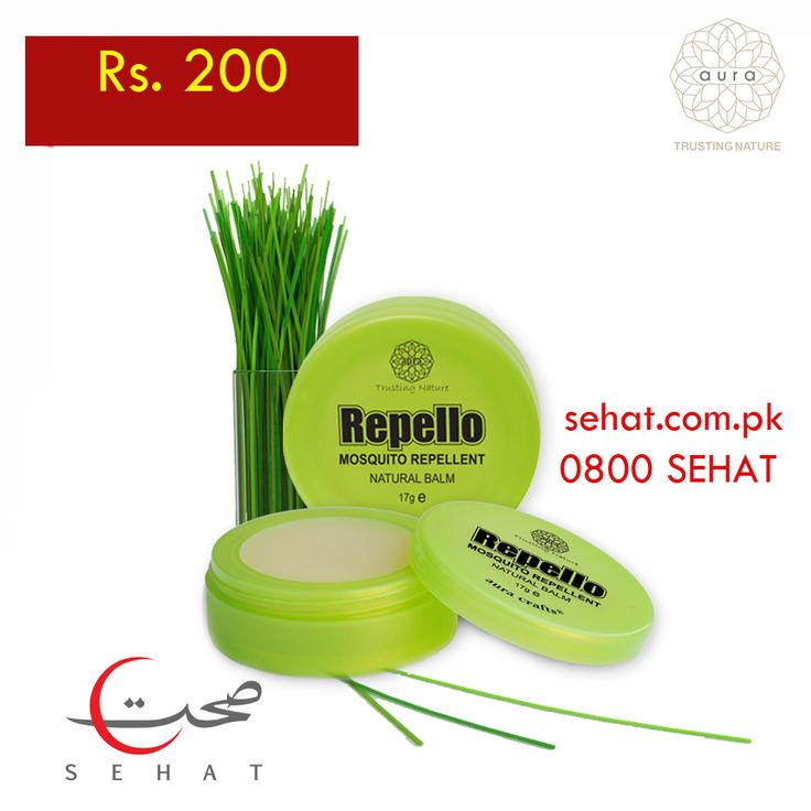 Buy Repello from Sehat for Rs. 200. Nationwide cash on delivery available #sehatpk #auracrafts #mosquitorepellent #cashondelivery #repello #yehaapkisehathai
