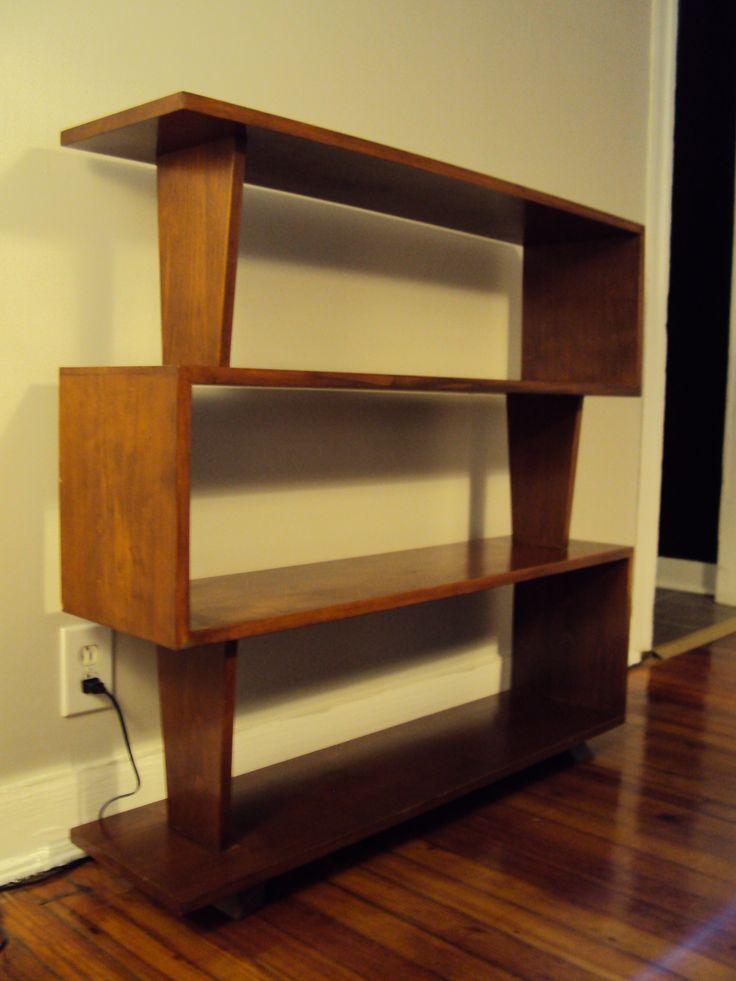 best 20 mid century modern bookcase ideas on pinterest. Black Bedroom Furniture Sets. Home Design Ideas