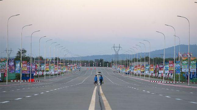 Saviez-vous que la capitale de Birmanie est en fait une ville-fantôme? Attendez de voir les photos !