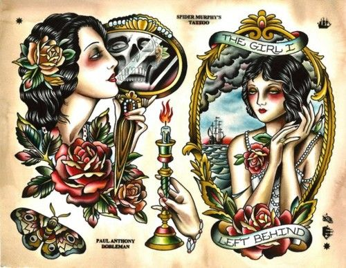 i like the frame and ribbon one on each foot, with the husband day of the dead dude on one and the wife on the other