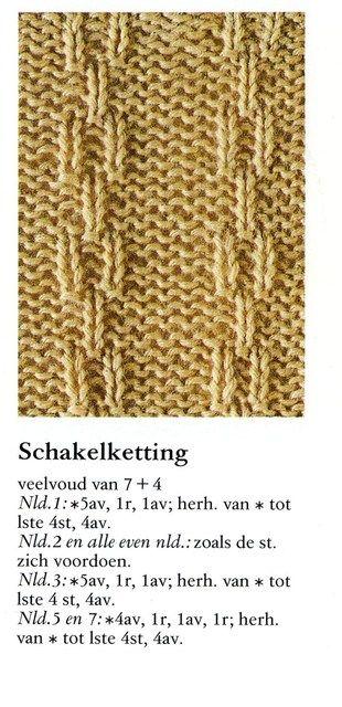 Schakelketting 001 - Breisteken