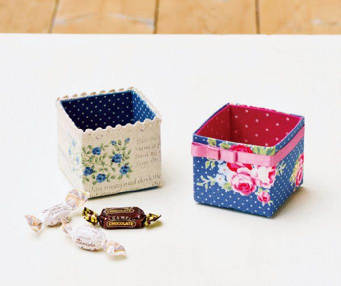 牛乳パックにお気に入りの布を貼って手作りの小物入れを作りましょう。 テーブルやデスクの上のごちゃごちゃもスッキリします。 簡単に作れるので、小学生の夏休みの工作や自由研究にもおすすめです。