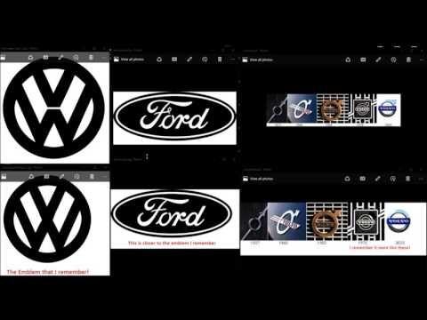 mandela effect examples | Effet Mandela / Effet Quantique et Altération du Réel: Logos de ...