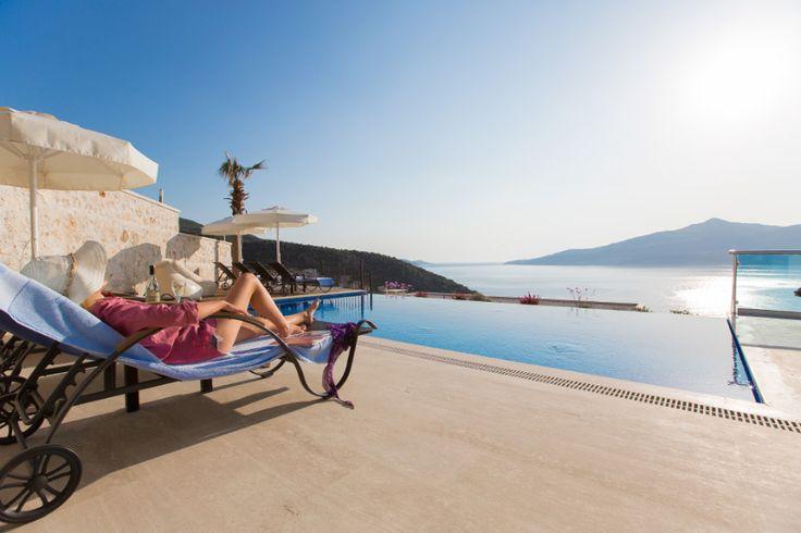 Luxury holiday villa in Kalkan Turkey  http://www.overseascollection.com/kalkan_villas_turkey/vila-defne.html